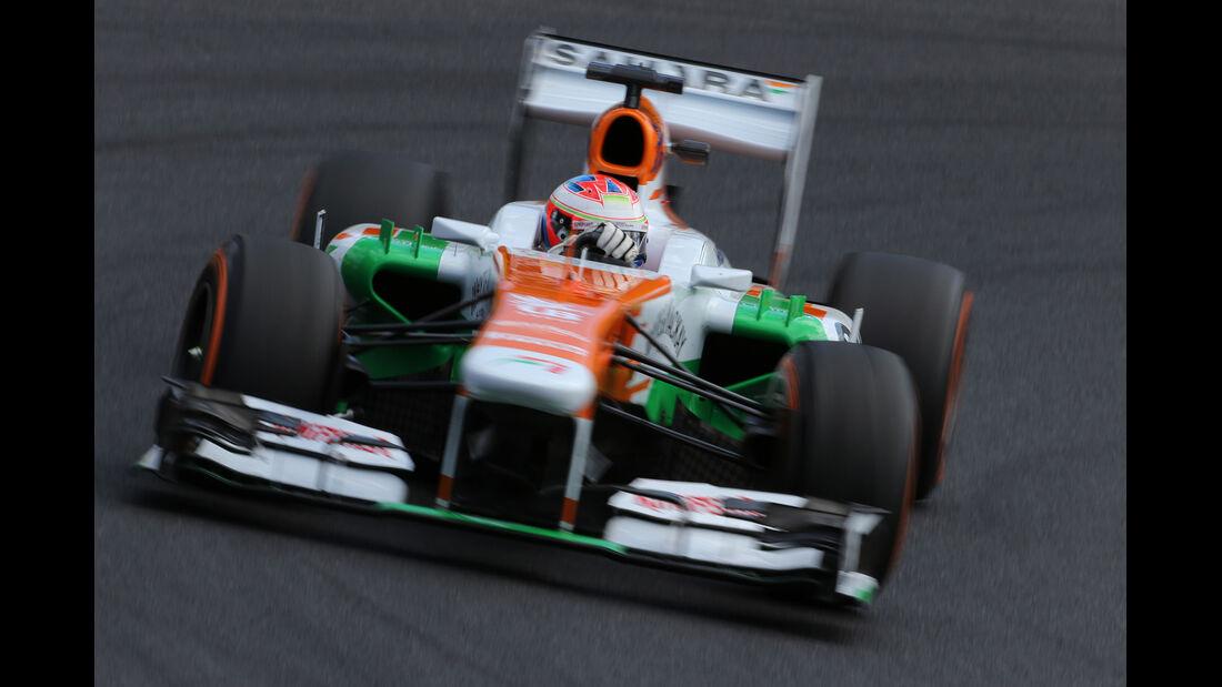 Paul di Resta - Force India - Formel 1 - GP Japan 2013
