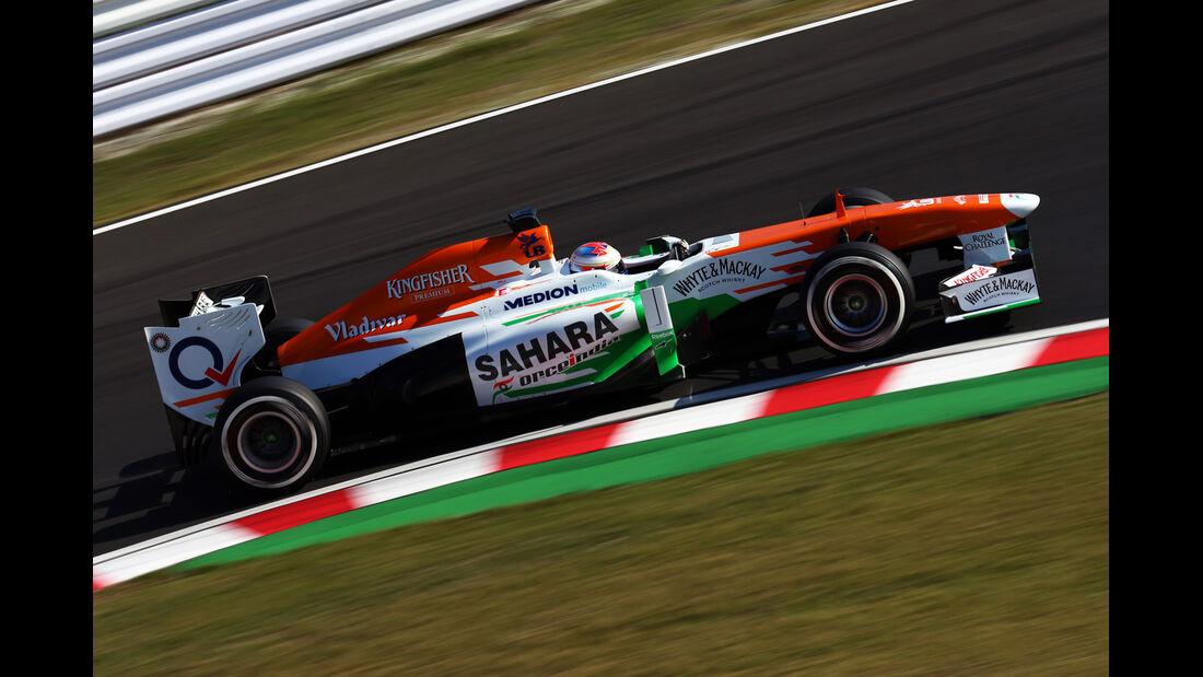 Paul di Resta - Force India - Formel 1 - GP Japan - Suzuka - 11. Oktober 2013