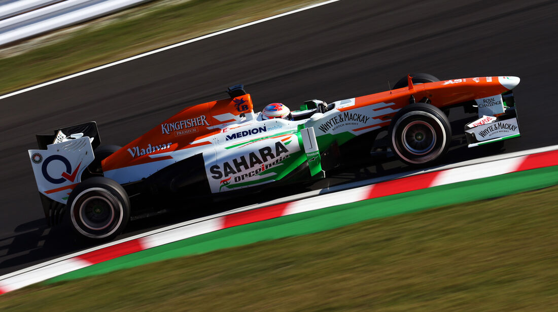 Paul di Resta - Force India - Formel 1 - GP Japan - Suzuka - 11. Oktober 2013