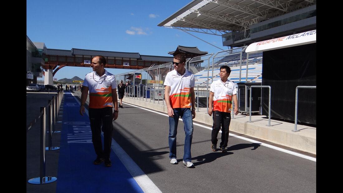 Paul di Resta - Force India - Formel 1 - GP Korea - 11. Oktober 2012