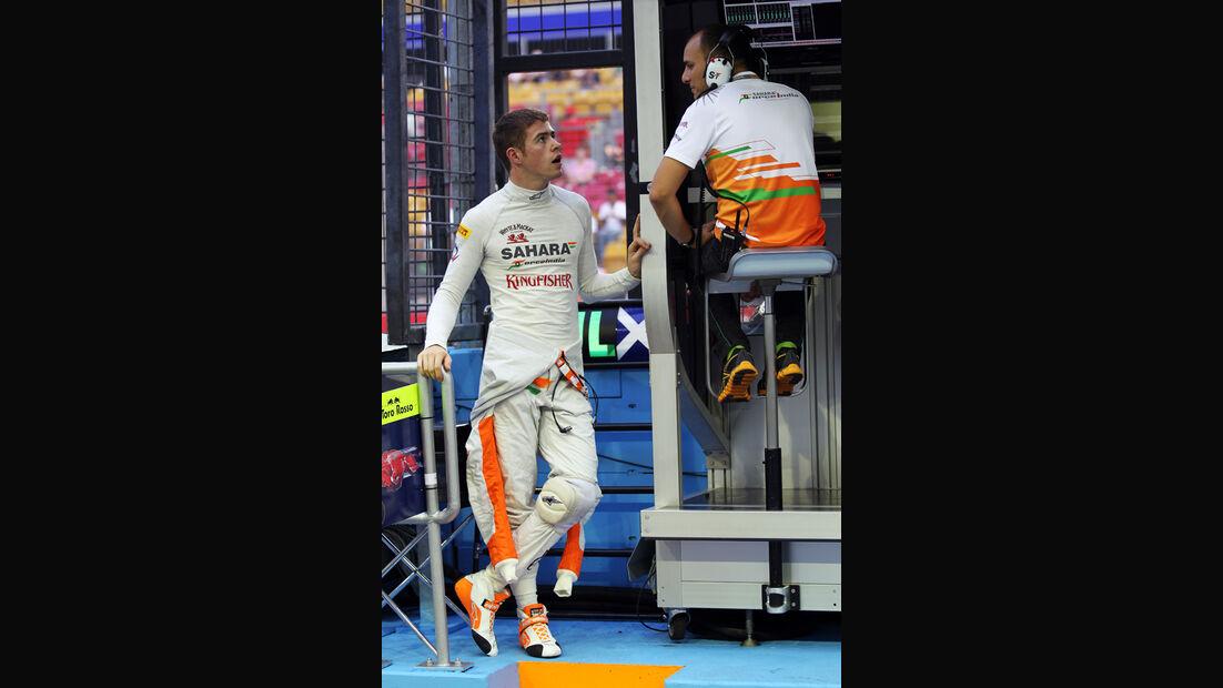 Paul di Resta - Force India - Formel 1 - GP Singapur - 21. September 2012