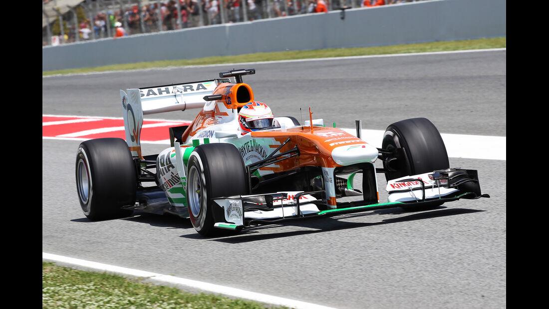 Paul di Resta - Force India - Formel 1 - GP Spanien - 11. Mai 2013