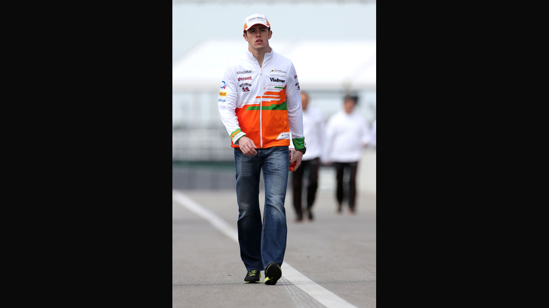 Paul di Resta - Force India - Formel 1 - GP USA - 14. November 2013