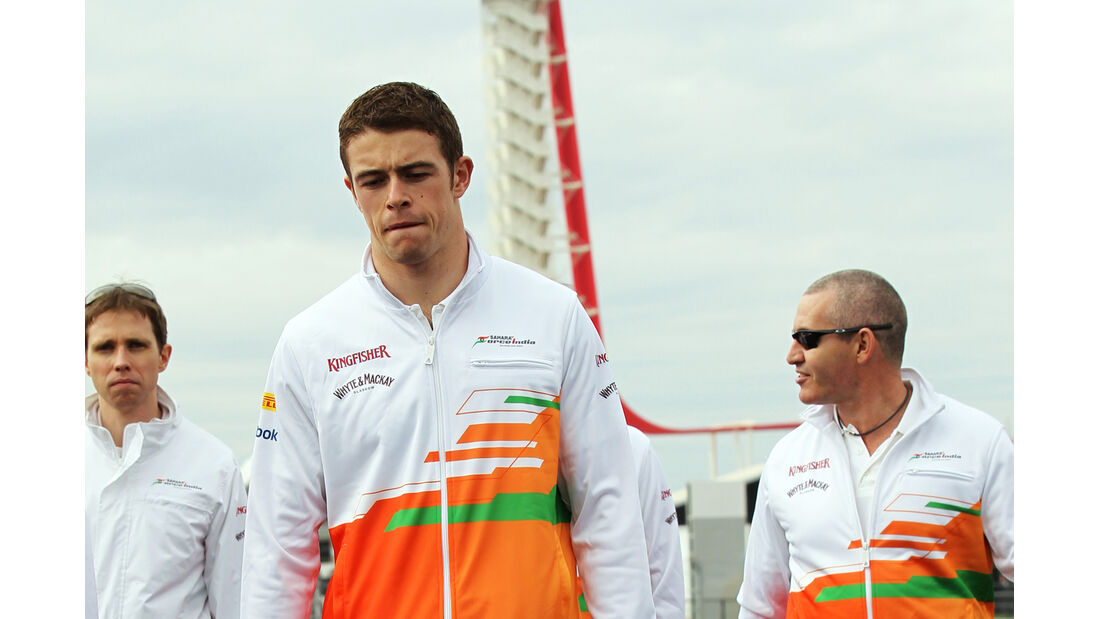 Paul di Resta - Force India - Formel 1 - GP USA - Austin - 15. November 2012