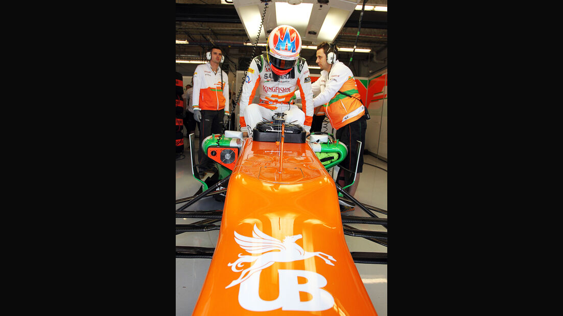 Paul di Resta - Force India - Formel 1 - GP USA - Austin - 16. November 2012