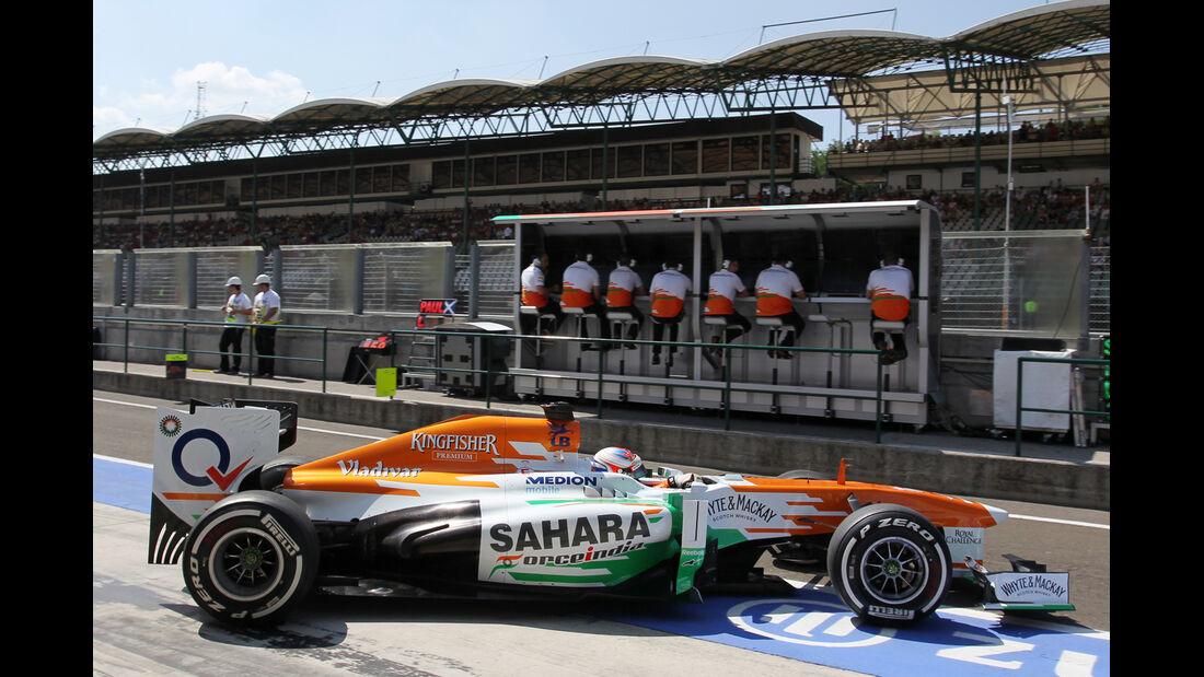 Paul di Resta - Force India - Formel 1 - GP Ungarn - 26. Juli 2013