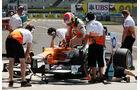 Paul di Resta - Force India - Formel 1 - GP Ungarn - Budapest - 28. Juli 2012