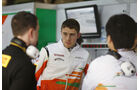 Paul di Resta, Force India, Formel 1-Test, Barcelona, 19. Februar 2013