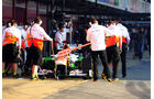 Paul di Resta, Force India, Formel 1-Test, Barcelona, 20. Februar 2013
