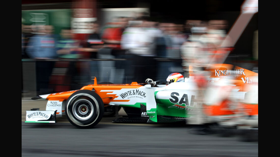 Paul di Resta - Force India - Formel 1-Test - Barcelona - 2012