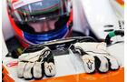 Paul di Resta, Force India, Formel 1-Test, Barcelona, 28. Februar 2013