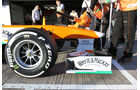 Paul di Resta - Force India - Formel 1 - Test - Jerez - 5. Februar 2013