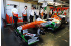 Paul di Resta, Force India, Formel 1-Test, Jerez, 6.2.2013