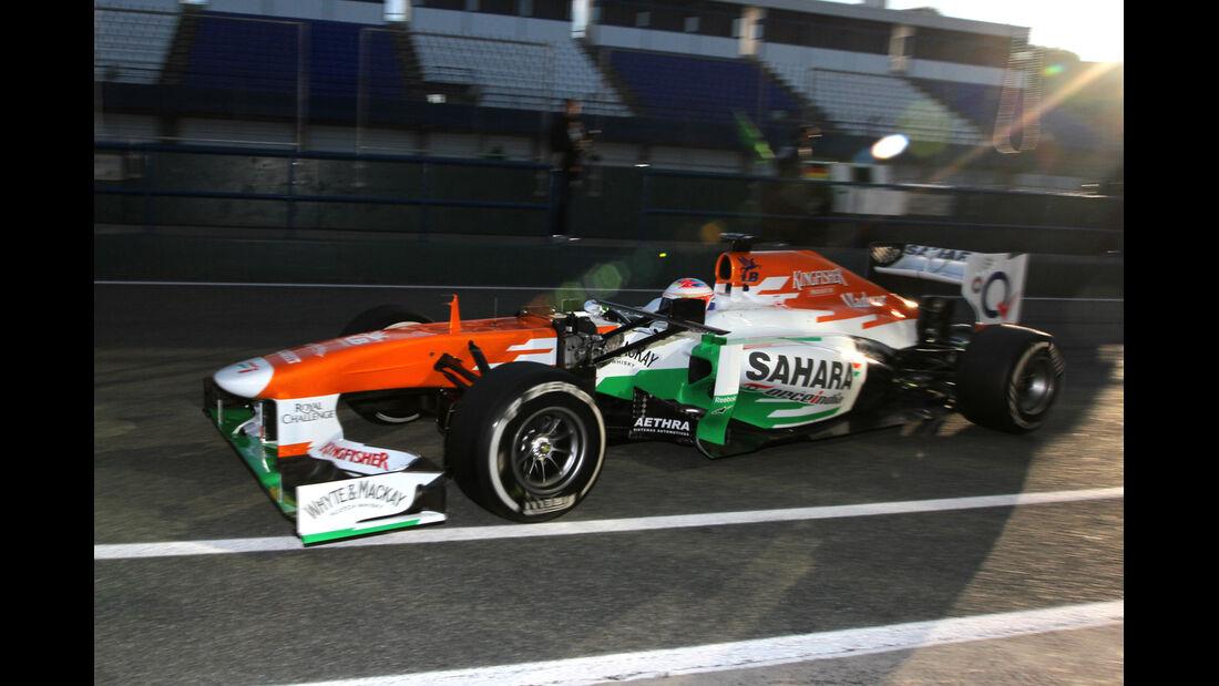 Paul di Resta - Force India - Formel 1 - Test - Jerez - 6. Februar 2013
