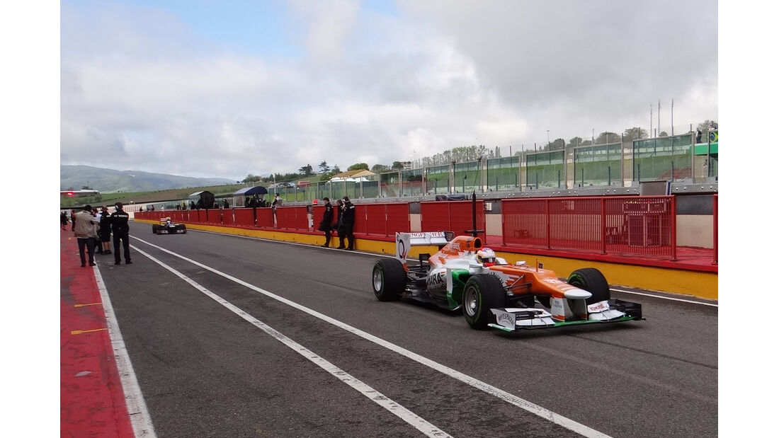 Paul di Resta - Force India - Formel 1-Test - Mugello - 2. Mai 2012