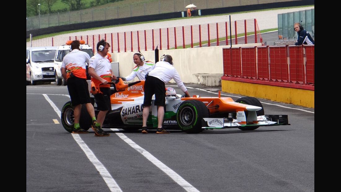 Paul di Resta - Force India - Formel 1-Test - Mugello - 2. Mai 2012
