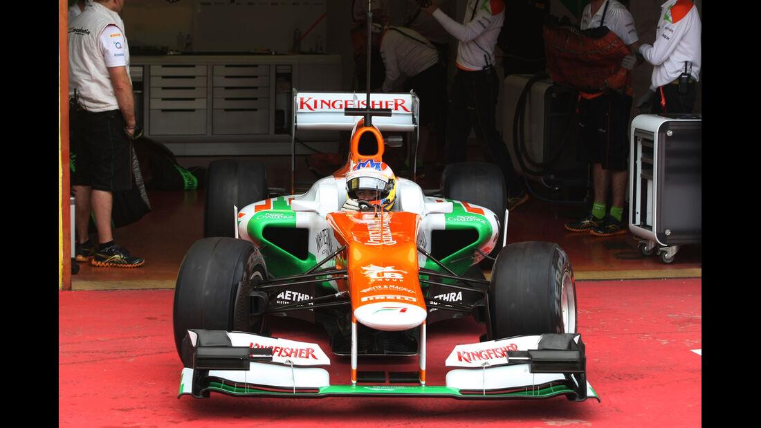 Paul di Resta - Force India - Formel 1-Test - Mugello - 3. Mai 2012