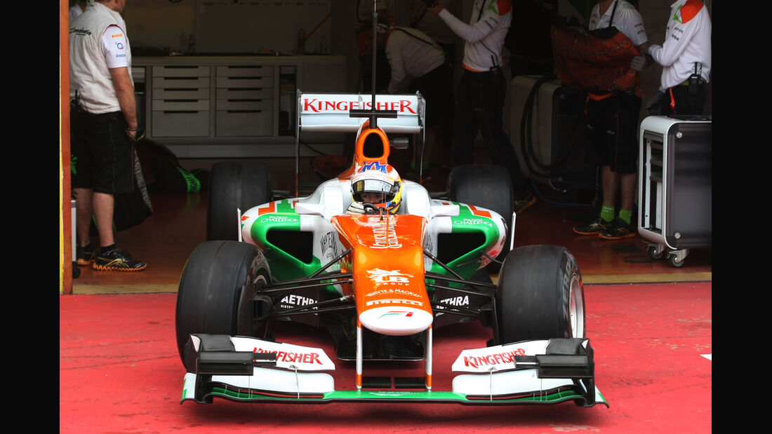 Paul di Resta - Force India - Formel 1-Test - Mugello - 3. Mai 2012
