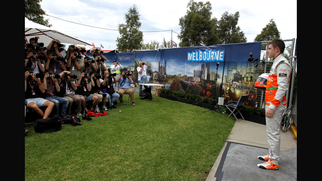 Paul di Resta - Force India - GP Australien - Melbourne - 15. März 2012