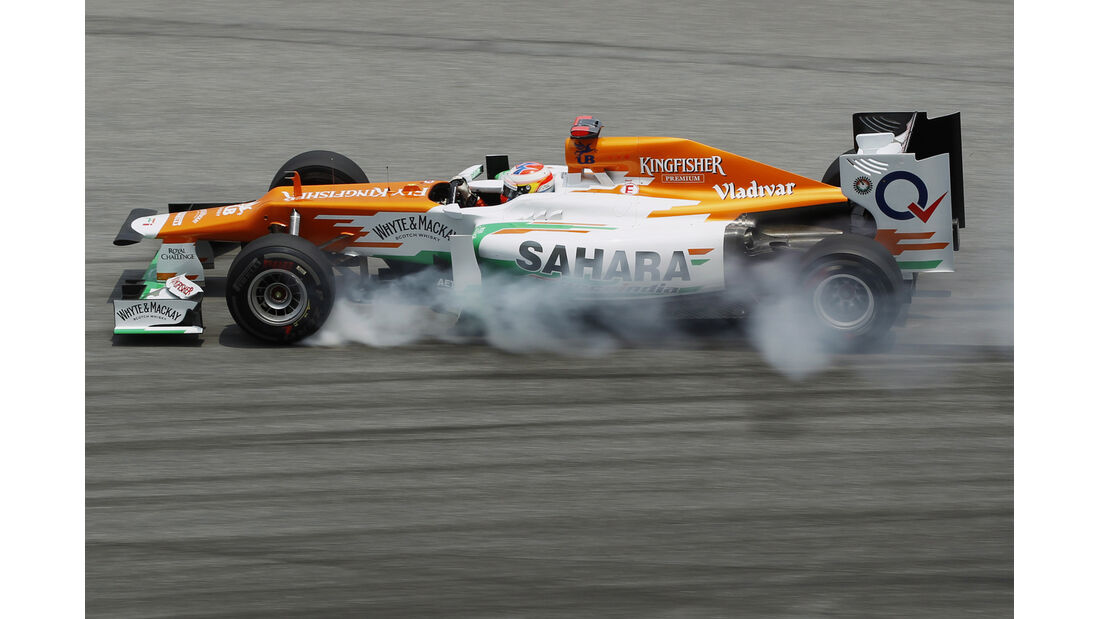 Paul di Resta - Force India - GP Malaysia 2012