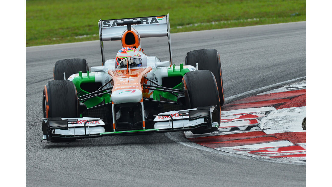 Paul di Resta - Force India - GP Malaysia - 23. März 2013