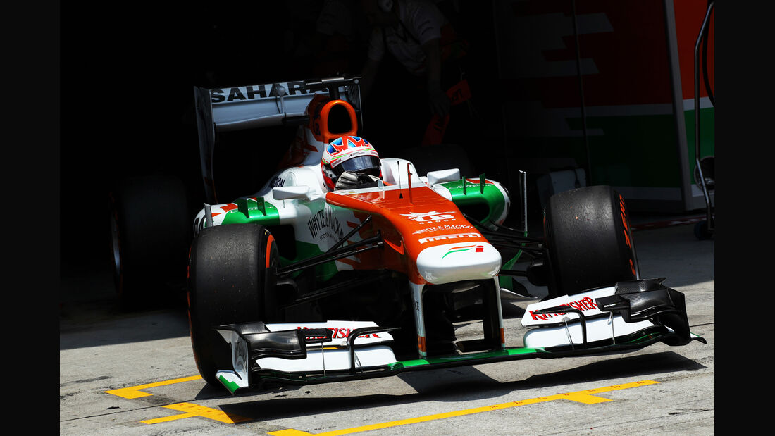 Paul di Resta - Force India - GP Malaysia - 23. März 2013