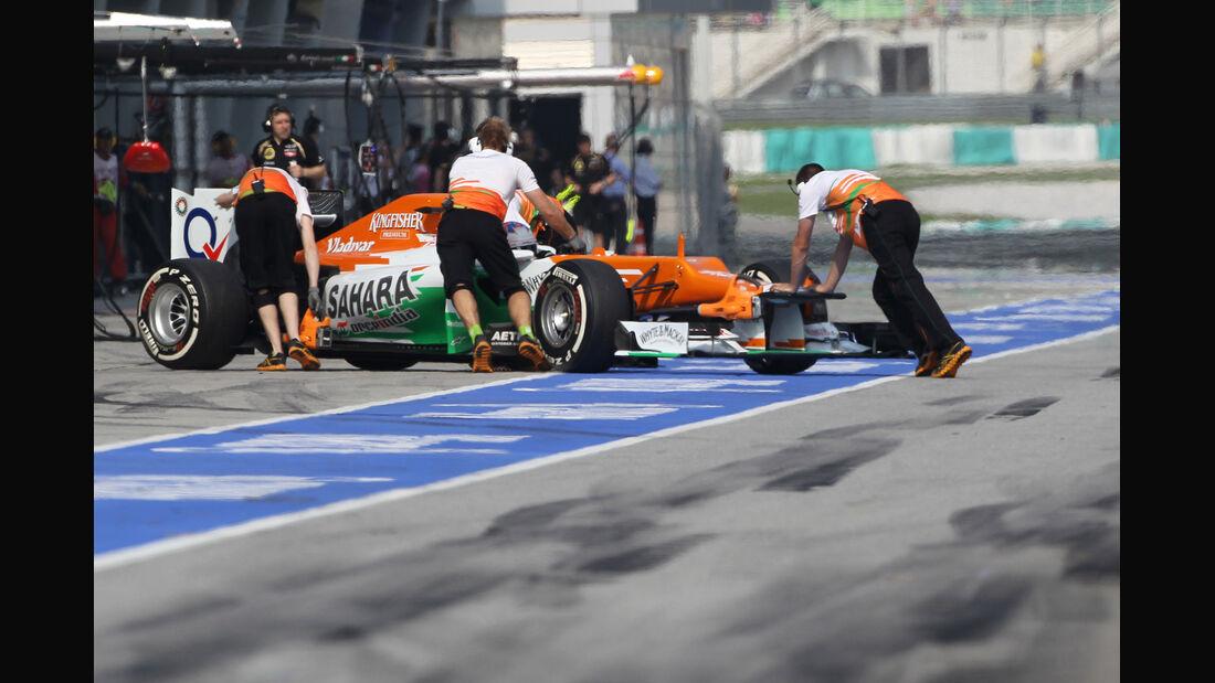Paul di Resta - Force India - GP Malaysia - 24. März 2012