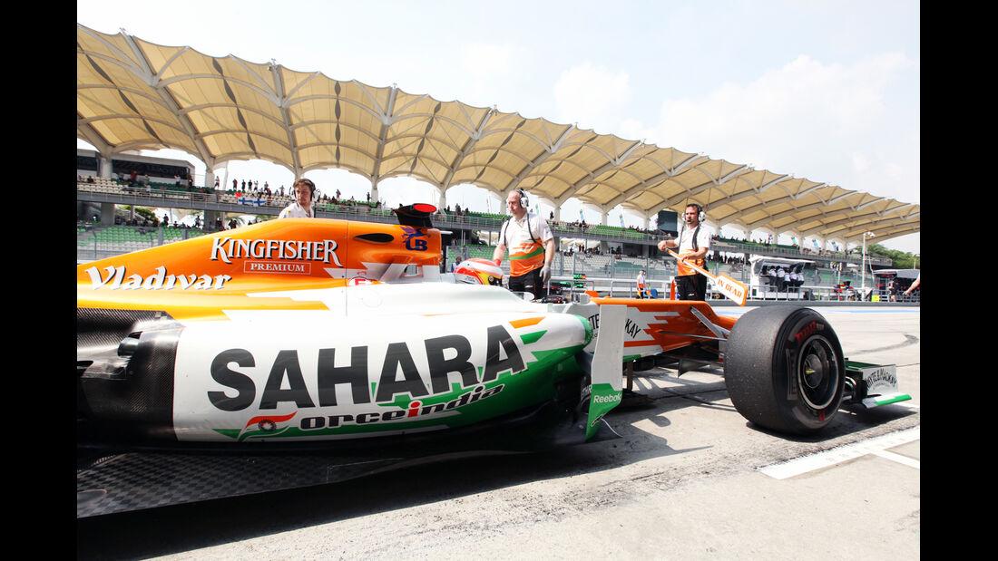 Paul di Resta - Force India - GP Malaysia - Training - 23. März 2012