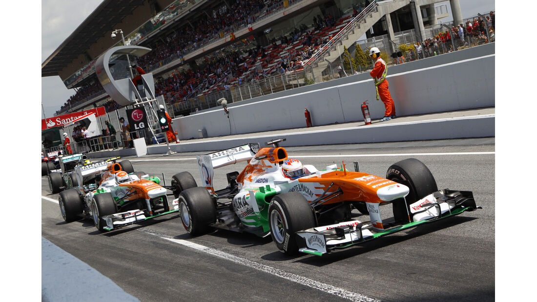 Paul di Resta - Force India - GP Spanien 2013