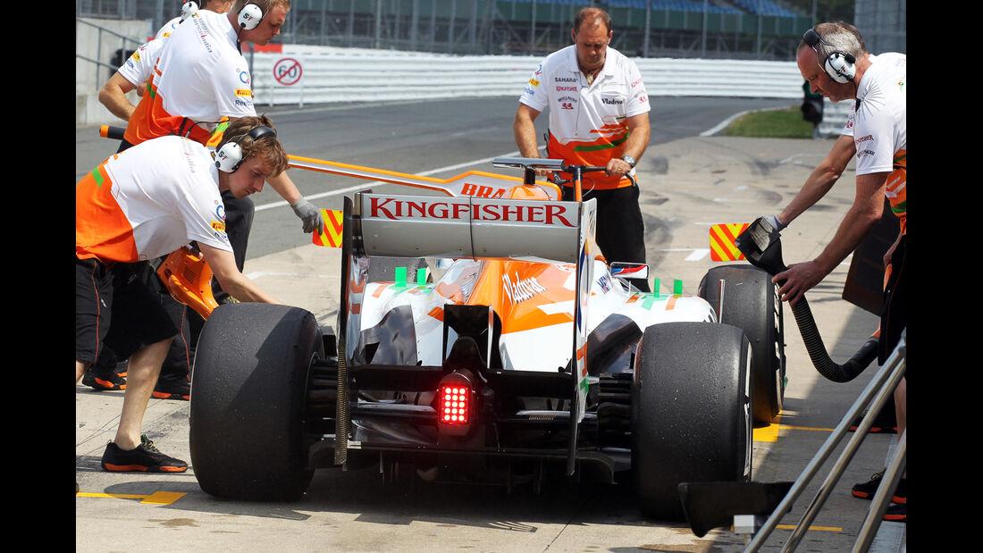 Paul di Resta - Force India - Young Driver Test - Silverstone - 17. Juli 2013