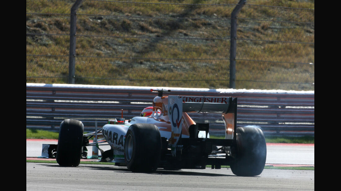 Paul di Resta Formel 1 Austin GP USA 2012