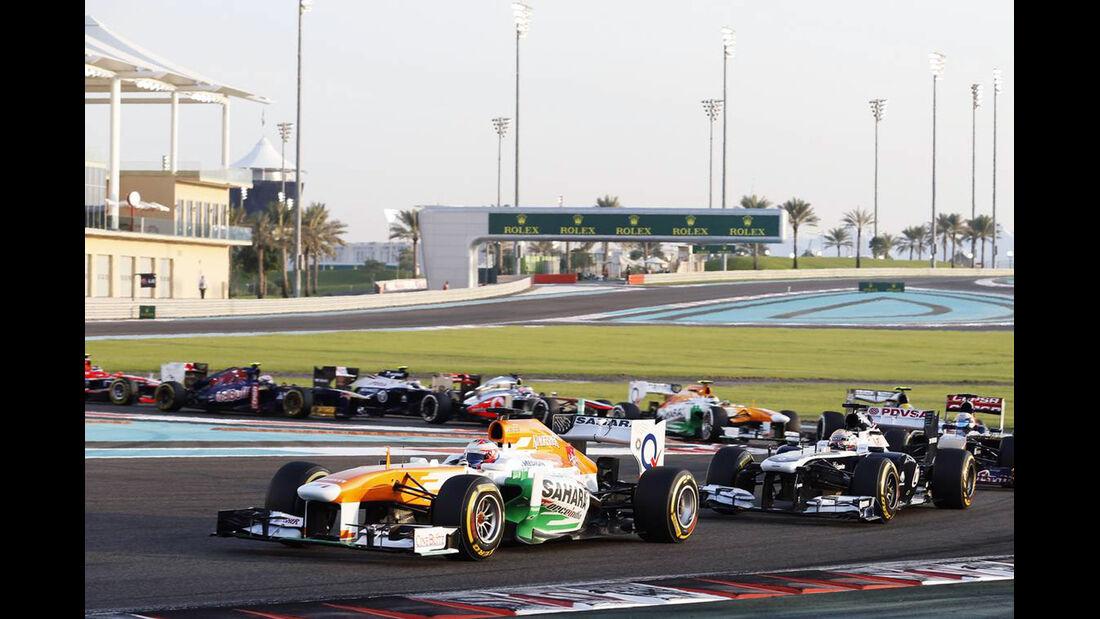 Paul di Resta - Formel 1 - GP Abu Dhabi - 03. November 2013