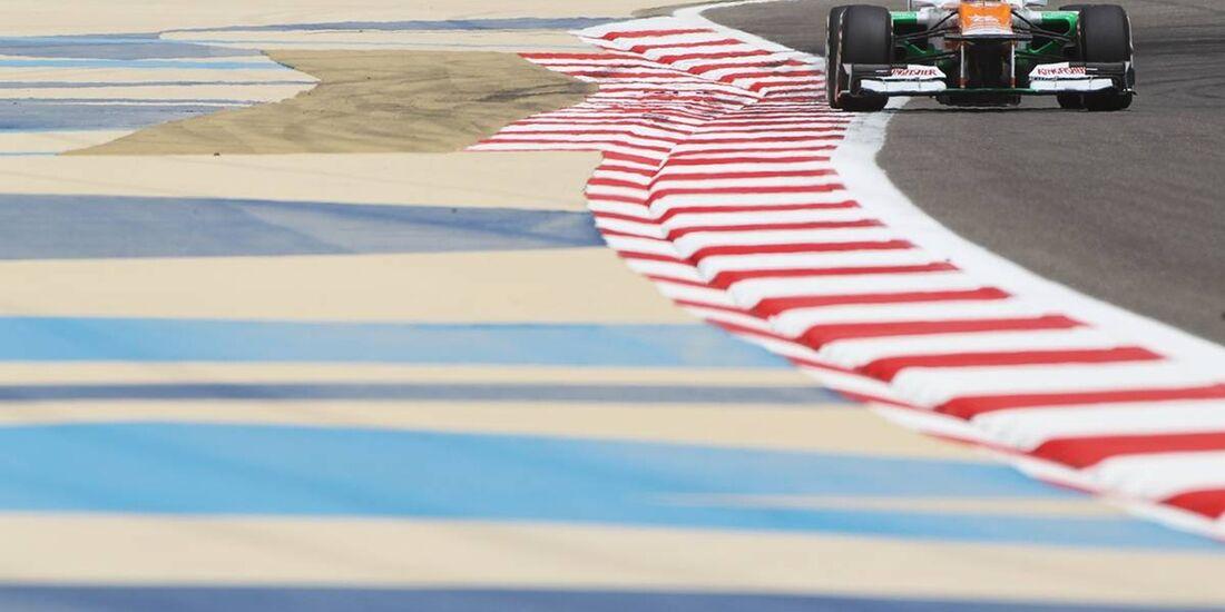 Paul di Resta - Formel 1 - GP Bahrain - 20. April 2012