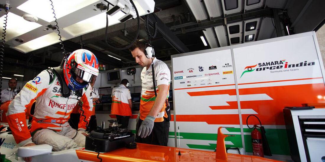 Paul di Resta - Formel 1 - GP China - 12. April 2013