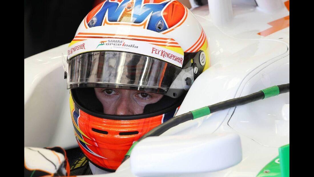 Paul di Resta  - Formel 1 - GP Europa - 23. Juni 2012