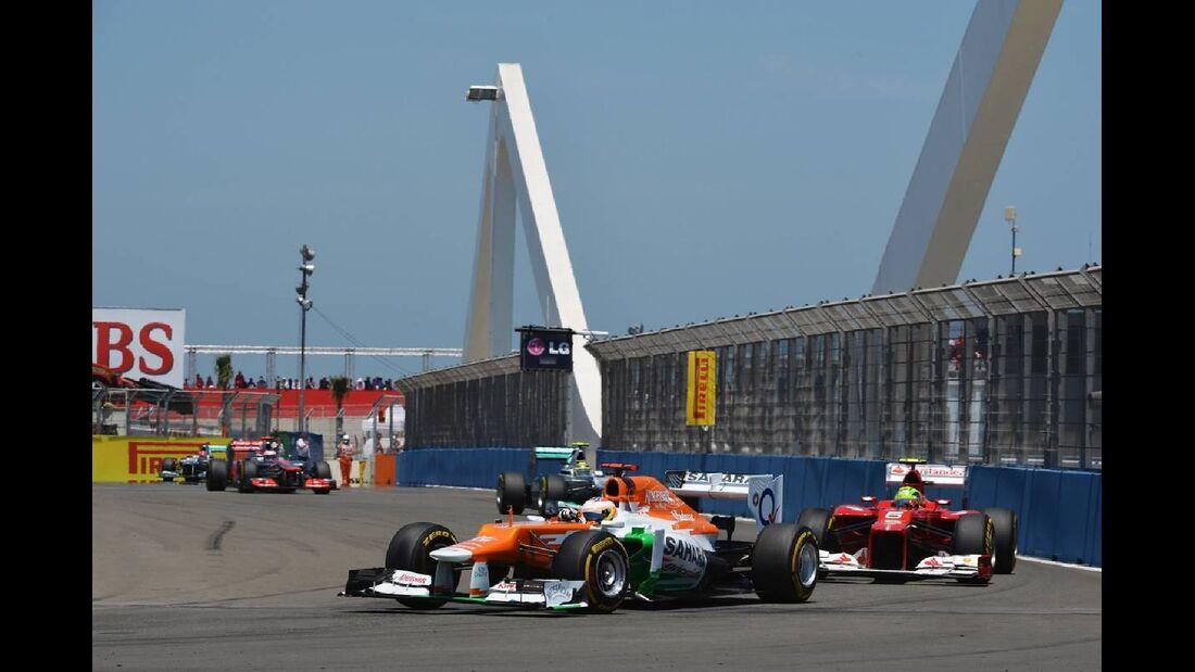 Paul di Resta  - Formel 1 - GP Europa - 24. Juni 2012
