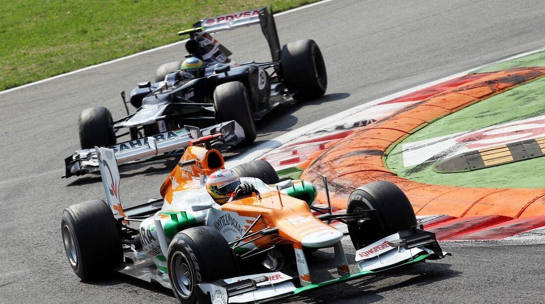 Paul di Resta - Formel 1 - GP Italien - 09. September 2012