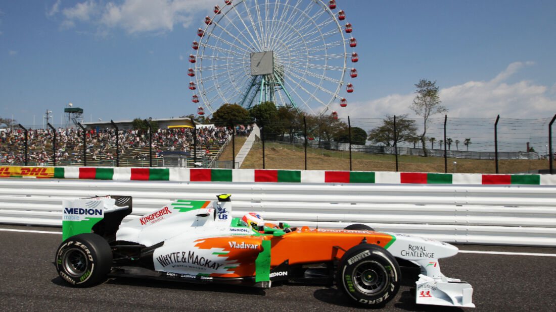 Paul di Resta  - Formel 1 - GP Japan - 07. Oktober 2011