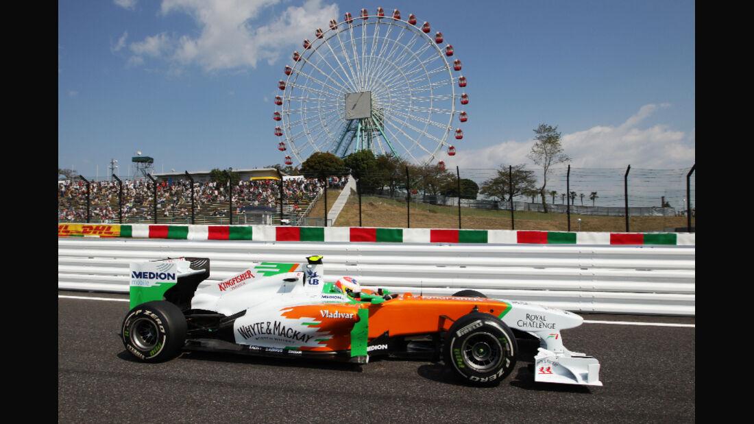 Paul di Resta  - Formel 1 - GP Japan - 07. Oktober 2011