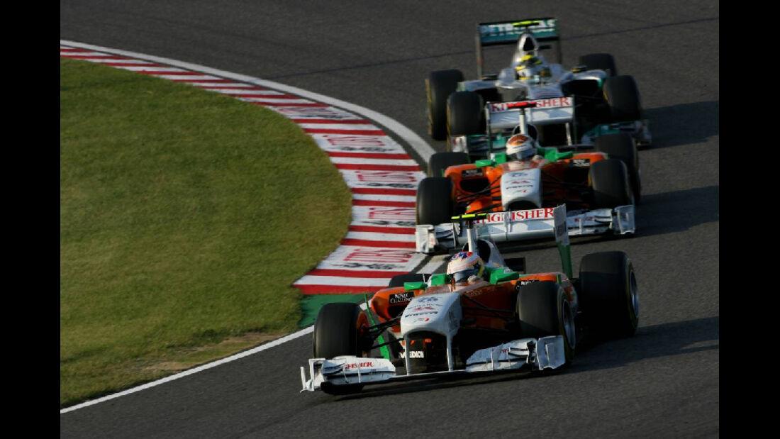 Paul di Resta  - Formel 1 - GP Japan - 9. Oktober 2011
