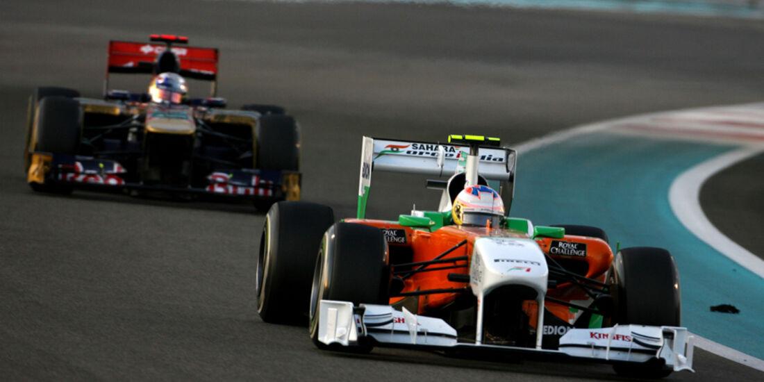 Paul di Resta GP Abu Dhabi 2011