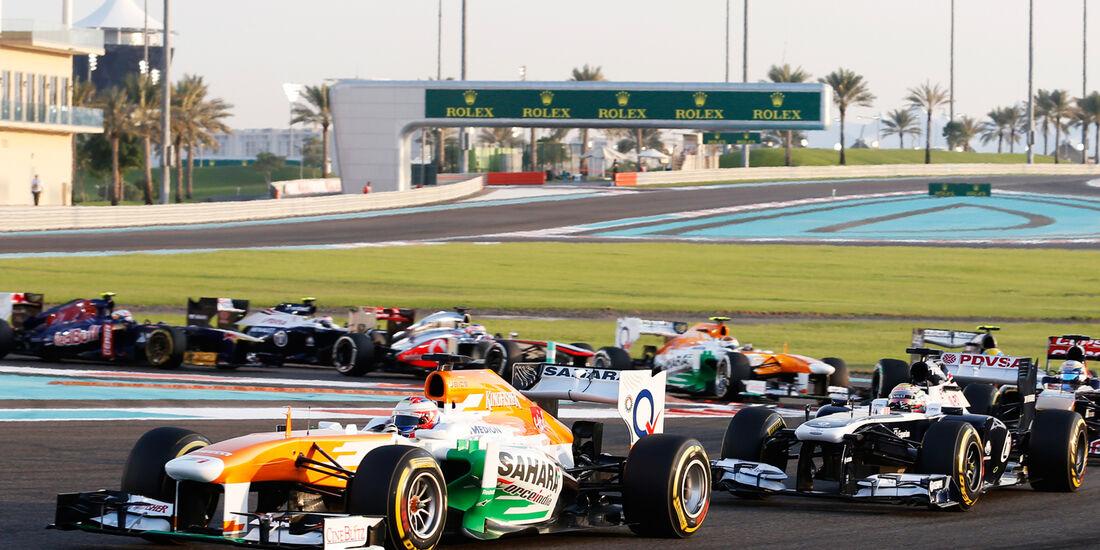 Paul di Resta - GP Abu Dhabi 2013