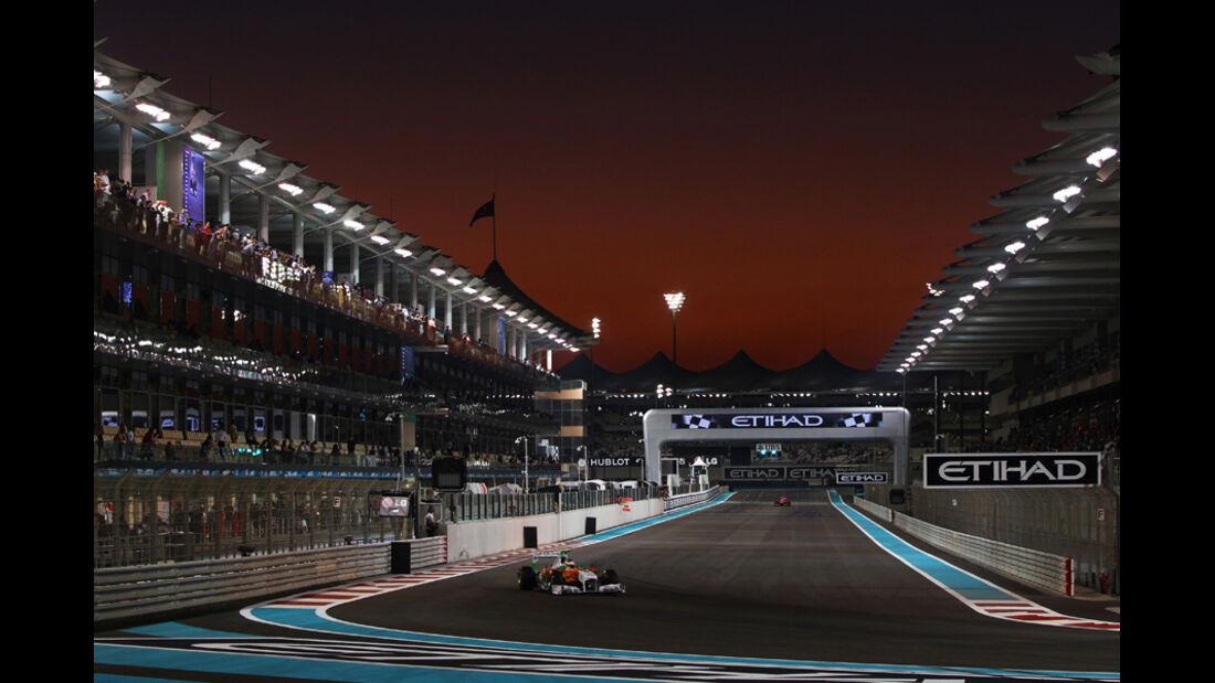 Paul di Resta - GP Abu Dhabi - Freies Training - 11. November 2011