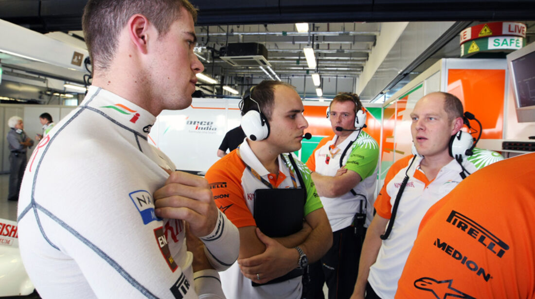 Paul di Resta - GP Abu Dhabi - Freies Training - 11. November 2011