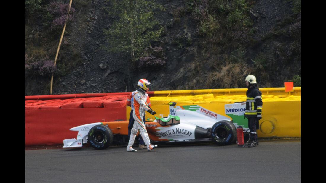 Paul di Resta GP Belgien 2011