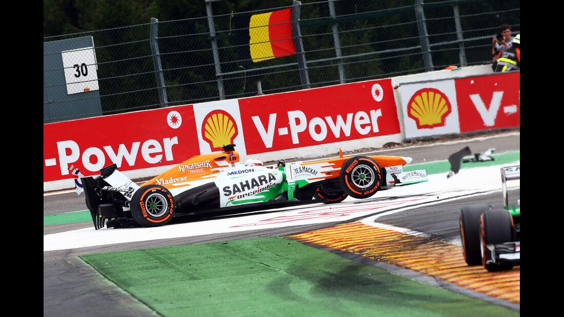 Paul di Resta - GP Belgien 2013