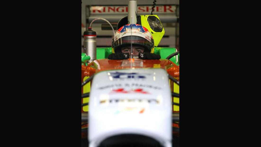 Paul di Resta - GP Belgien - Qualifying - 27.8.2011
