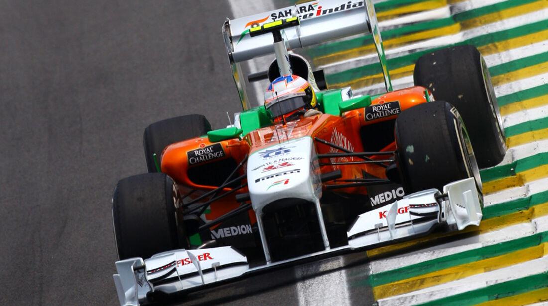 Paul di Resta - GP Brasilien - 26. November 2011
