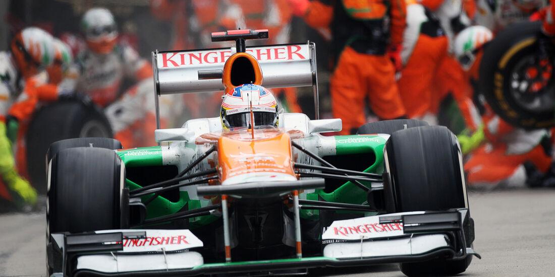 Paul di Resta GP China 2012