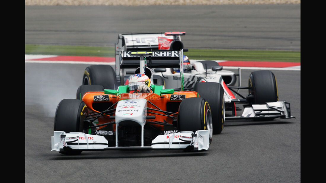Paul di Resta GP Deutschland 2011 Noten